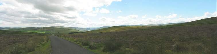 A view of Caddonhead in Scotland